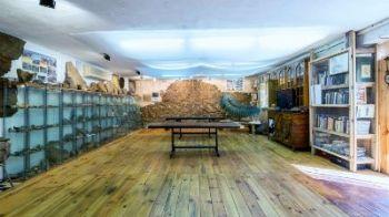 Exposición de fósiles Navas de Estena, Parque Nacional de Cabañeros, Ciudad Real